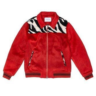 Zip Varsity Jacket